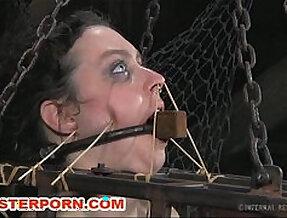 Slave dixon mason bdsm bizarre and cage torment