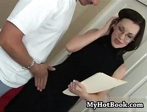 Brandi edwards started liking anal after she pushe