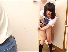 high schoolgirl in my house