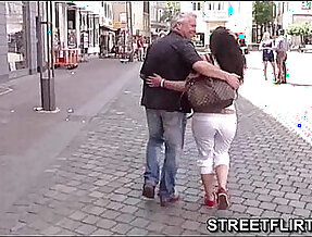 Horny casting agent looking for girls on the streets to fuck