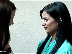 Seduced bride by sapphic erotica lesbian scene with jo angelica