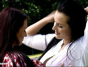 Ranch Rapture by Sapphic Erotica sensual lesbian sex scene with Carmen and Rox