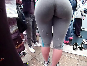 Candid Booty Bubble Butt Culo Brazil Thick Pawg BBW Ass Premium