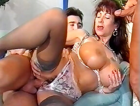 german busty Gina Colany casting