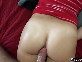 Hot GF tries anal for the first time Taylor Dare