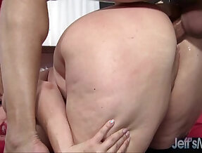 Hot BBW MILF Alexis Couture pleases this guys cock