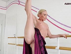 Anna Sigarga with gymnastics never before