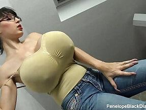 Penelope Black Diamond Milking Tits Boobs Preview