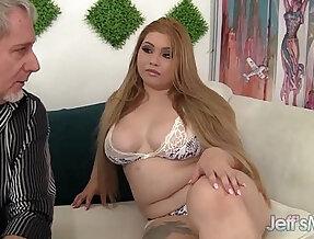 Sexy horny Asian plumper Arianny Koda hardcore sex