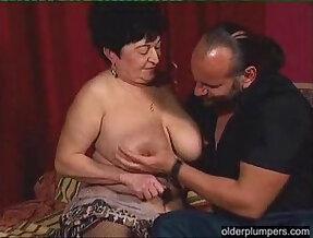 Chunky granny wants hard cock