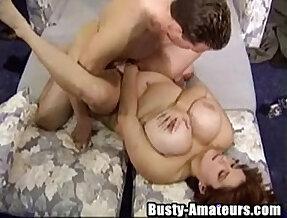 Busty Helena fucking horny dudes