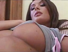 Hot Hungarian Brunette Kocsis Orsi plays with herself