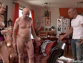 Ops, my BF found me in threesome action with his parents
