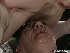 Mature lady love dirty sex and taste