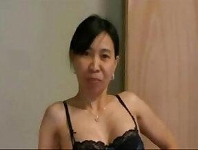 Asianwife cuckolds white guy