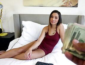Money-hungry slut