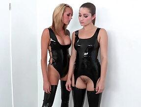 Lesbians Dani Daniels & Brett Rossi